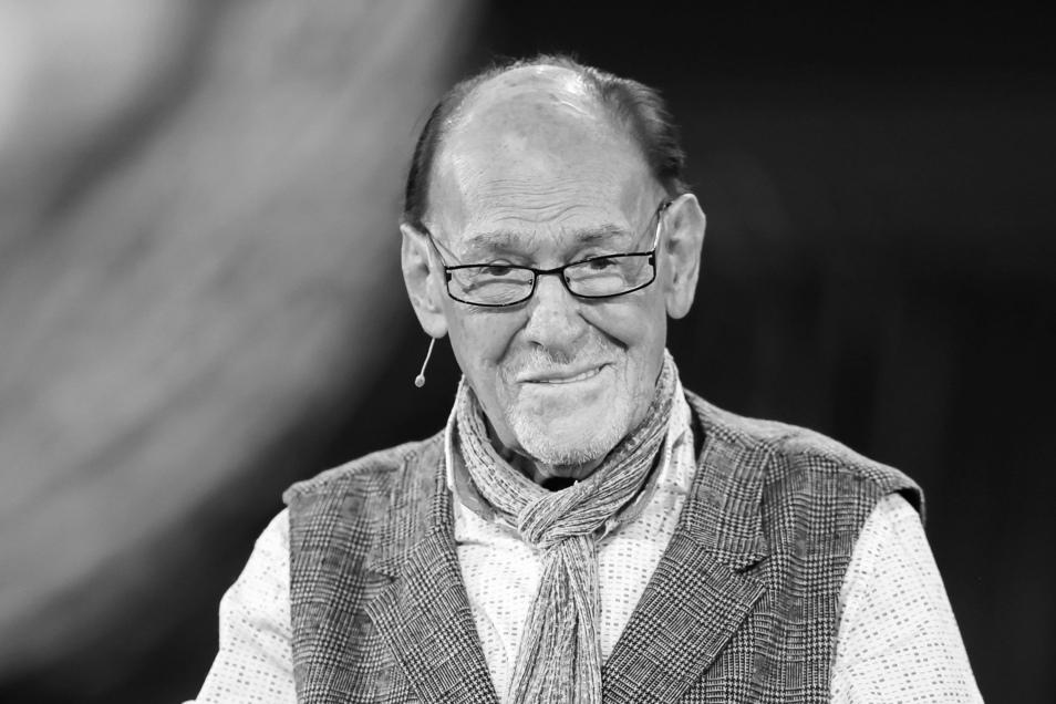 Schauspieler Herbert Köfer (hier ein Foto von 2020) starb im Alter von 100 Jahren