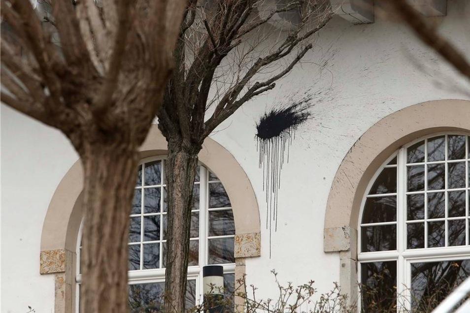 Auf die Landeszentrale wurde in der Nacht zum Donnerstag ein Anschlag verübt.
