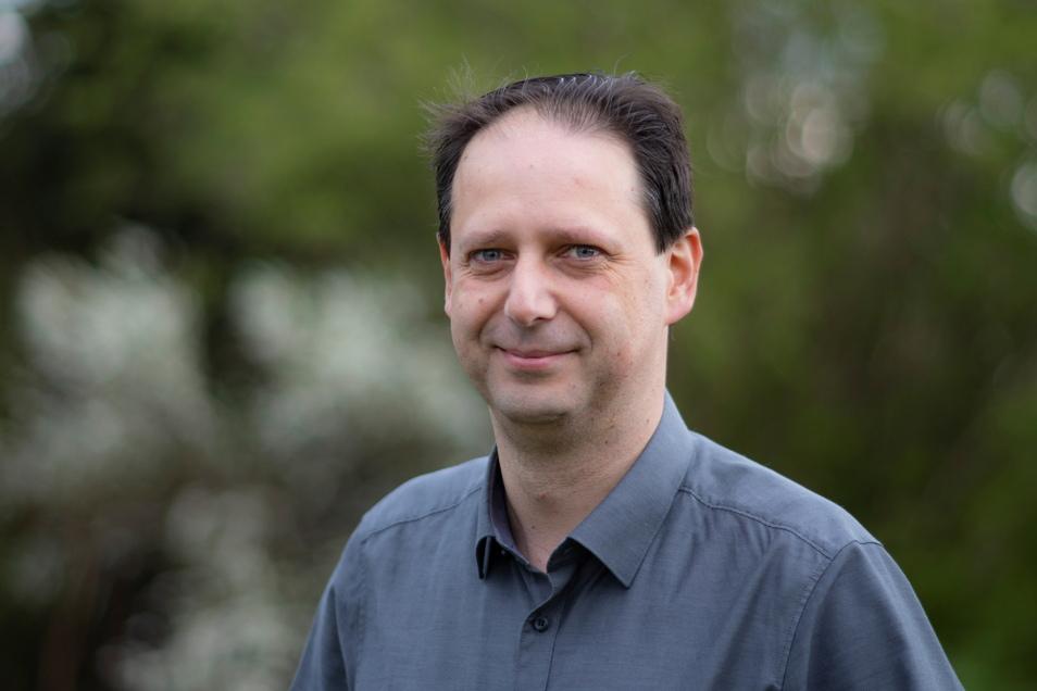 Mario Metzner ist Bautzens neuer Kreiselternsprecher. Der Vater zweier Töchter kritisiert manche Maßnahme in der Corona-Pandemie - schlägt aber sanftere Töne an als sein Vorgänger.