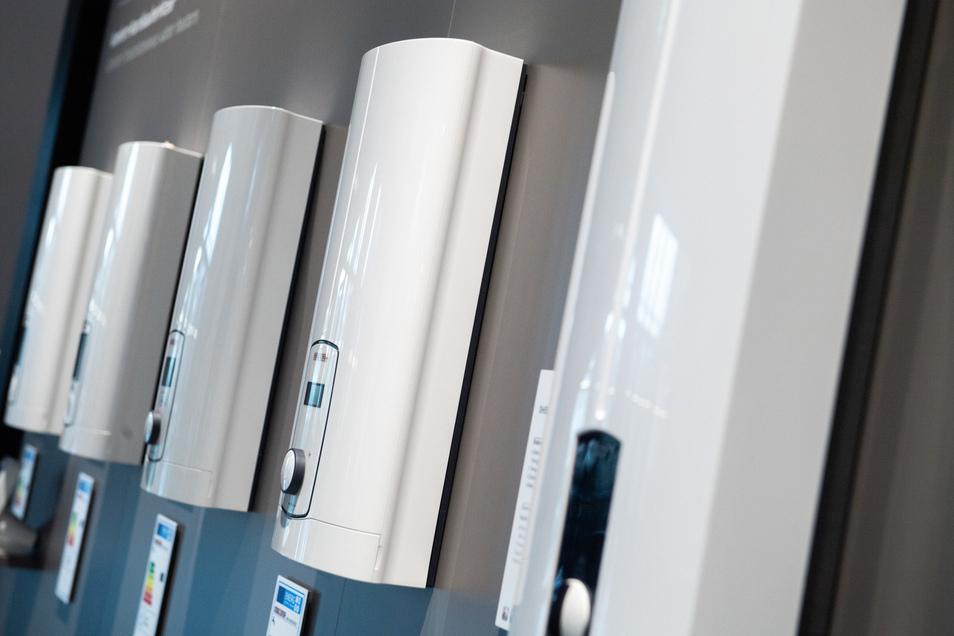 Moderne Durchlauferhitzer verbrauchen im Vergleich zu älteren Modellen weniger Strom.