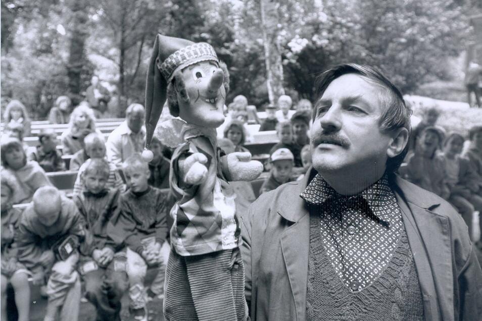 Im Juli 1991 gab Stefan Flinner seine erste Vorstellung im Dresdner Zoo.