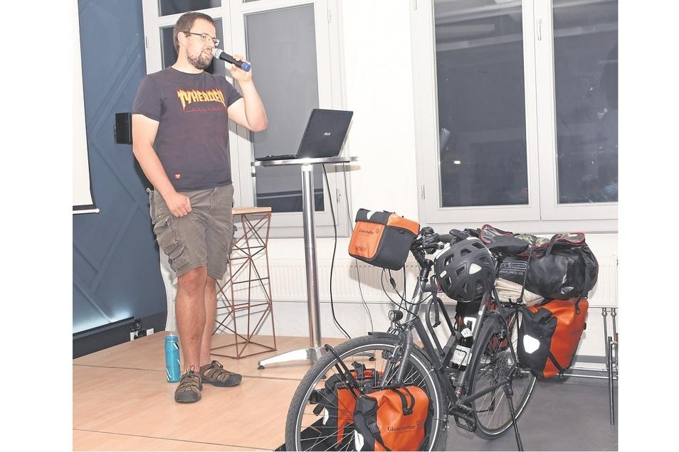 """Willy Klein erzählte im Juli in der SKZ-Reihe """"Weltenbummler. Lausitzer Reiseberichte"""" von seiner Radtour zum Nordkap. Inzwischen gibt es das Angebot online."""