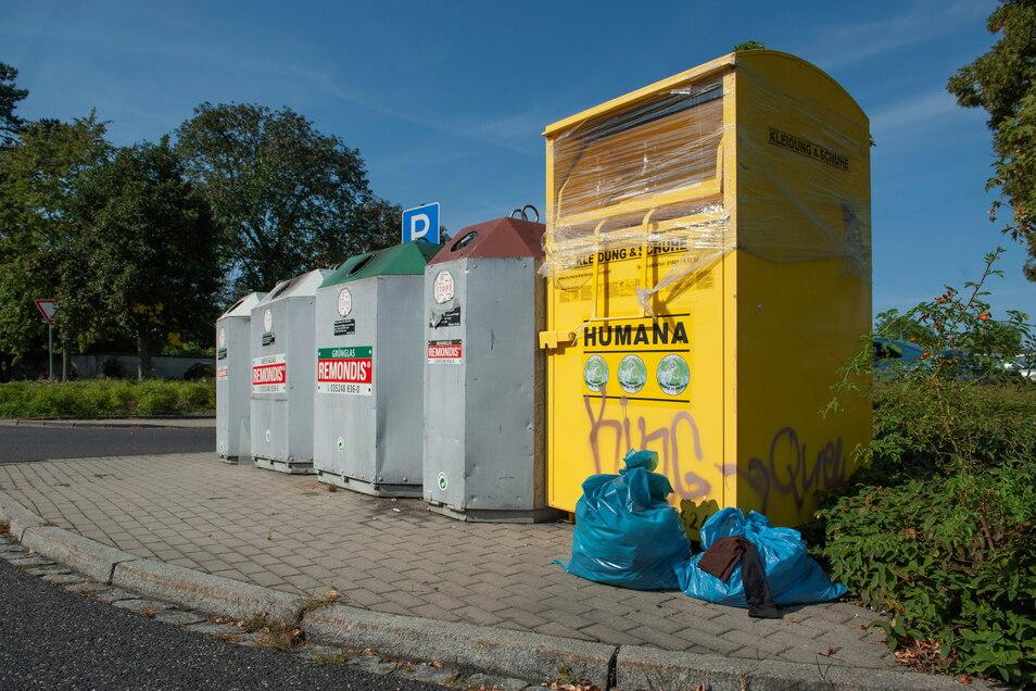 Mit dem Rückzug eines Anbieters schwindet in Neustadt die Anzahl der Altkleidercontainer.
