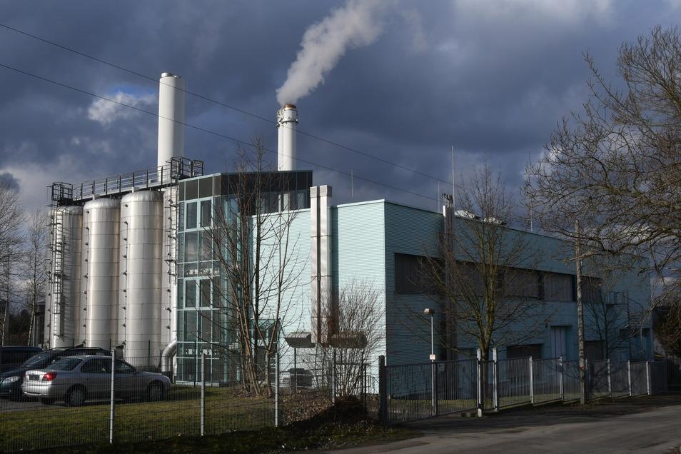 Heizkraftwerk Pirna-Sonnenstein: Wichtige Bauteile müssen ausgewechselt werden.