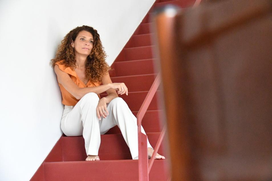 Vanessa Bravo hat gemeinsam mit ihrem Mann die Eis-Manufaktur Pau Pau gegründet. Ob ihre Zukunft in Dresden liegt, lässt sie offen.