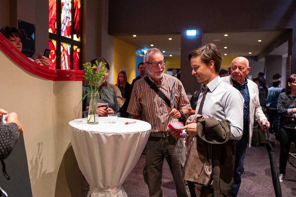 """Erst am Wochenende war im Görlitzer Kino Hochbetrieb: Schauspieler Tom Schilling war zu Gast für die Premiere des Films """"Fabian"""", der zum großen Teil in Görlitz gedreht wurde."""