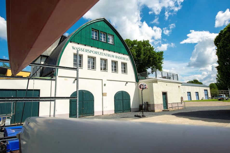 Nach dem Hochwasser 2013 musste das Historische Bootshaus saniert werden.