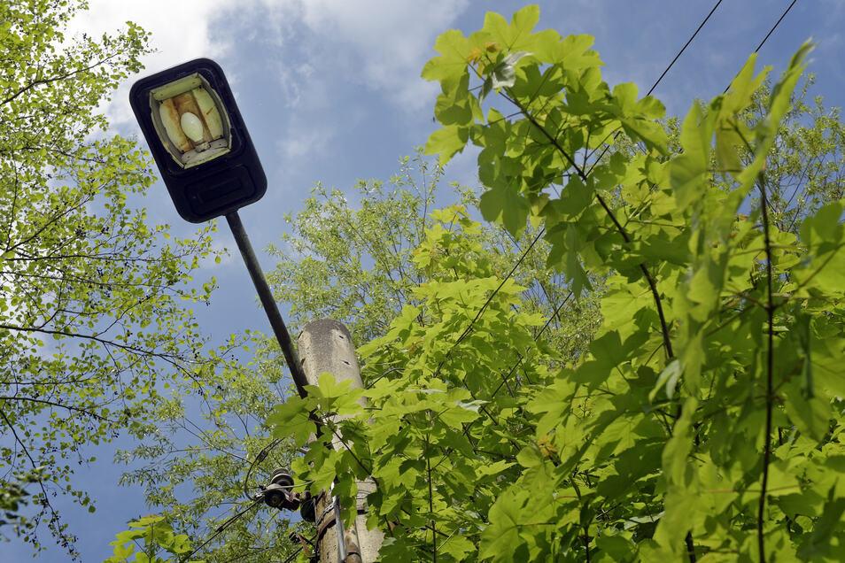 Ostrau will unter anderem die Straßenbeleuchtung in den Ortsteilen mit EU-Fördermitteln erneuern.