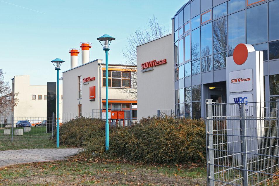 Das Kundenzentrum der Stadtwerke Riesa.