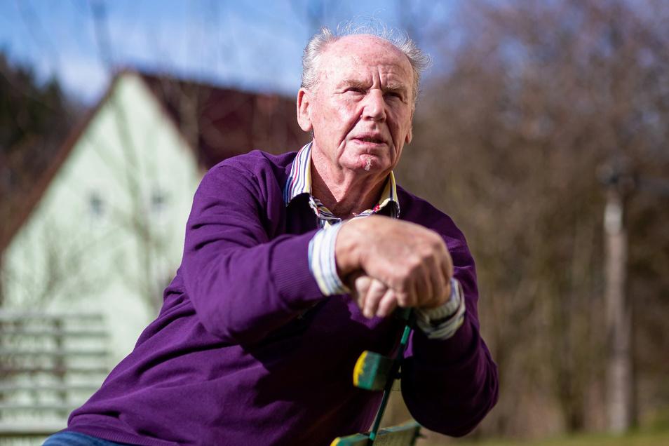 Gerold Haufe aus Schmiedeberg hat nach 15 Jahren sein Amt als Friedensrichter abgegeben.