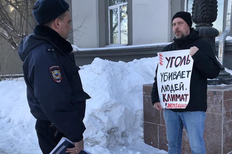 Wladimir Sliwjak, russischer Umweltschützer, wurde mit dem Alternativen Nobelpreis 2021 ausgezeichnet.