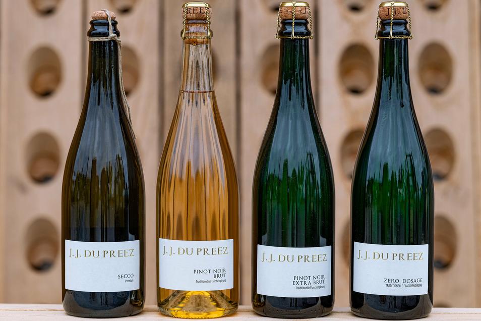 Die Preise für den Sekt von Jacques du Preez liegen zwischen 14,90 und 24,90 Euro.