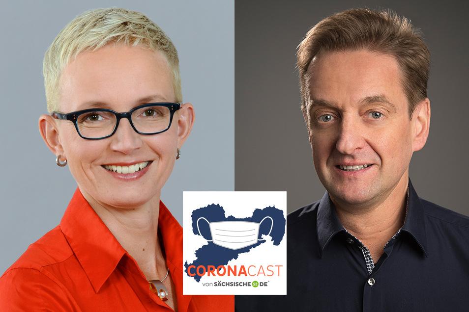Daniela Sepsi und Alfred von Krempelhuber von Glaxo Smith Kline reden im CoronaCast über die Forschung an einem Impfstoff gegen das Coronavirus.