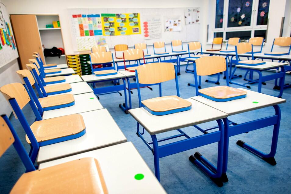 In Sachsen dürfen nur die Abschlussklassen in die Schule kommen, alle anderen werden auf Distanz unterrichtet werden.