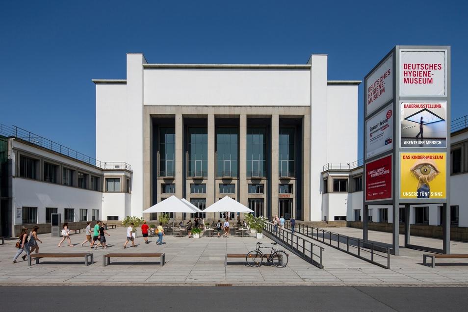 Das Deutsche Hygiene-Museum kann doch nicht wieder ab Dienstag besucht werden.