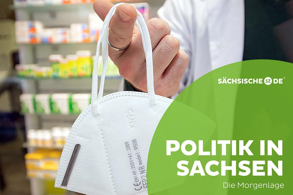 Sachsen streitet um die FFP2-Maskenpflicht - sie soll zunächst nur in Pflegeheimen zum Standard werden.
