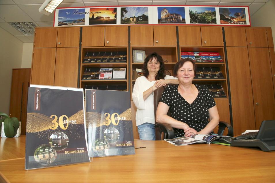 Auf den Tag genau vor einem Jahr hatten Susanne Teich und ihre Mitarbeiterin Gerlinde Mitschke die große Hoffnung, in ihrem Reisebüro in Niesky wieder durchstarten zu können. Aber die zweite Corona-Welle im November machte wieder alles dicht.