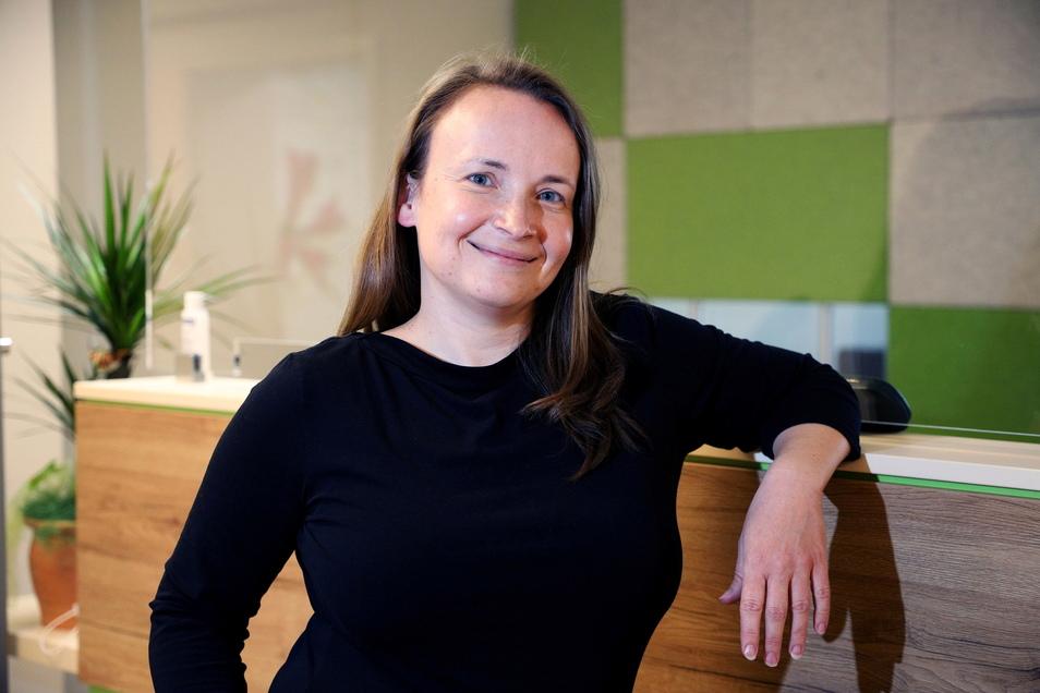 Psychiaterin Dr. Lucia Cepenova hat im Ärztehaus am Kutzschenstein ihre Praxis eröffnet.