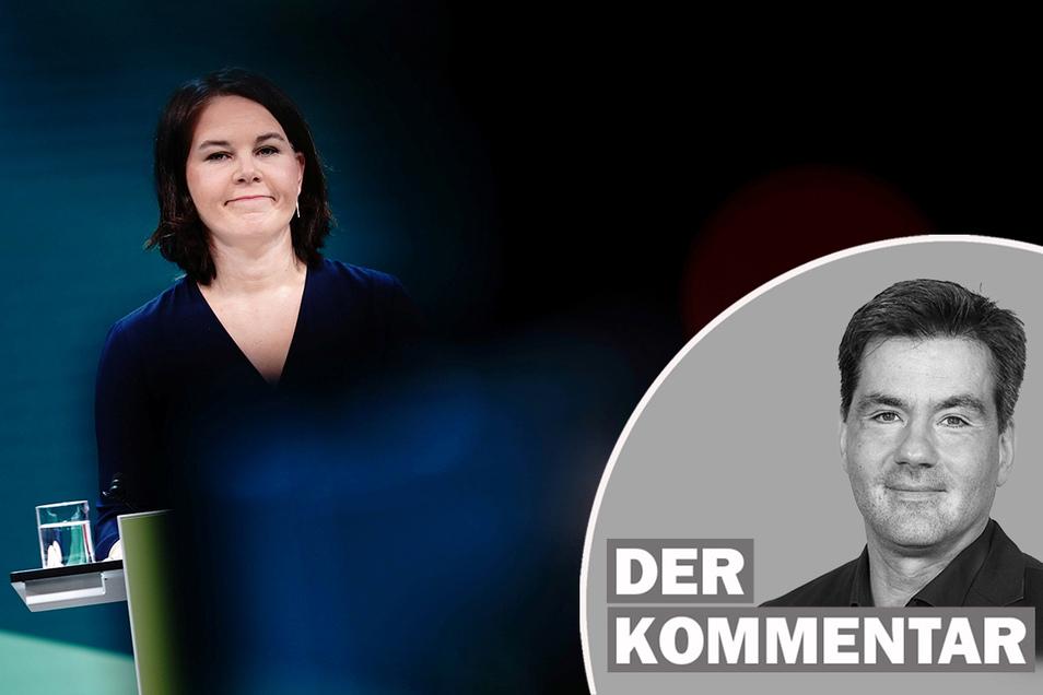 Die Grünen-Vorsitzende Annalena Baerbock wird die Grünen in die Bundestagswahl führen.