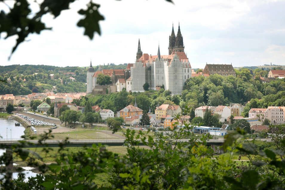 Prägt eine der schönsten Stadtansichten: die Albrechtsburg Meißen.