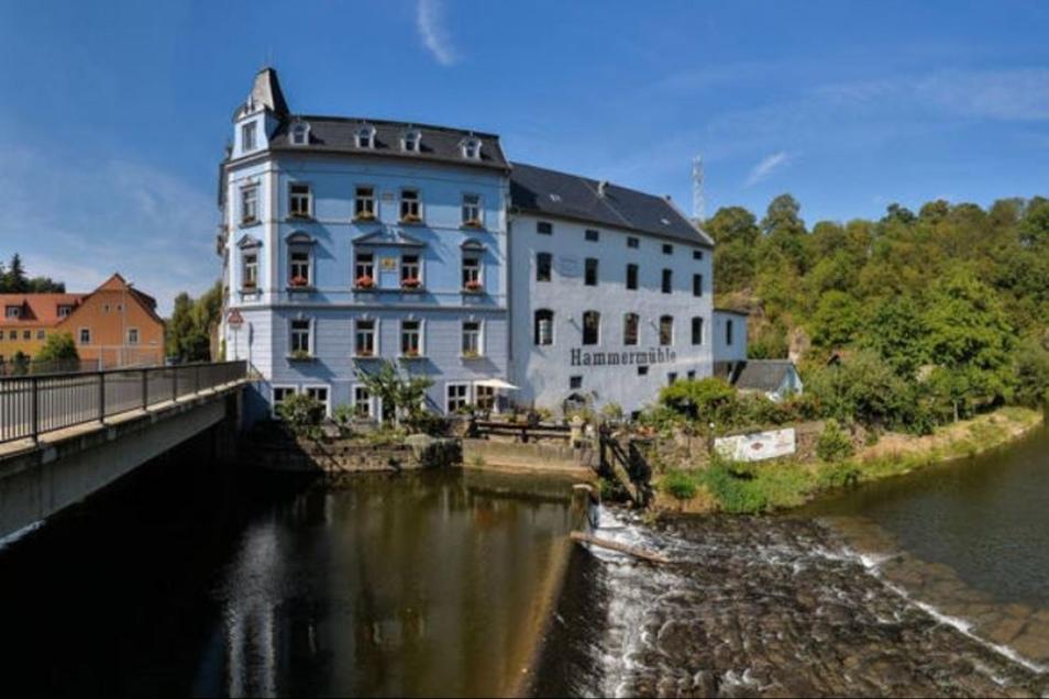 Die Hammermühle in Bautzen.