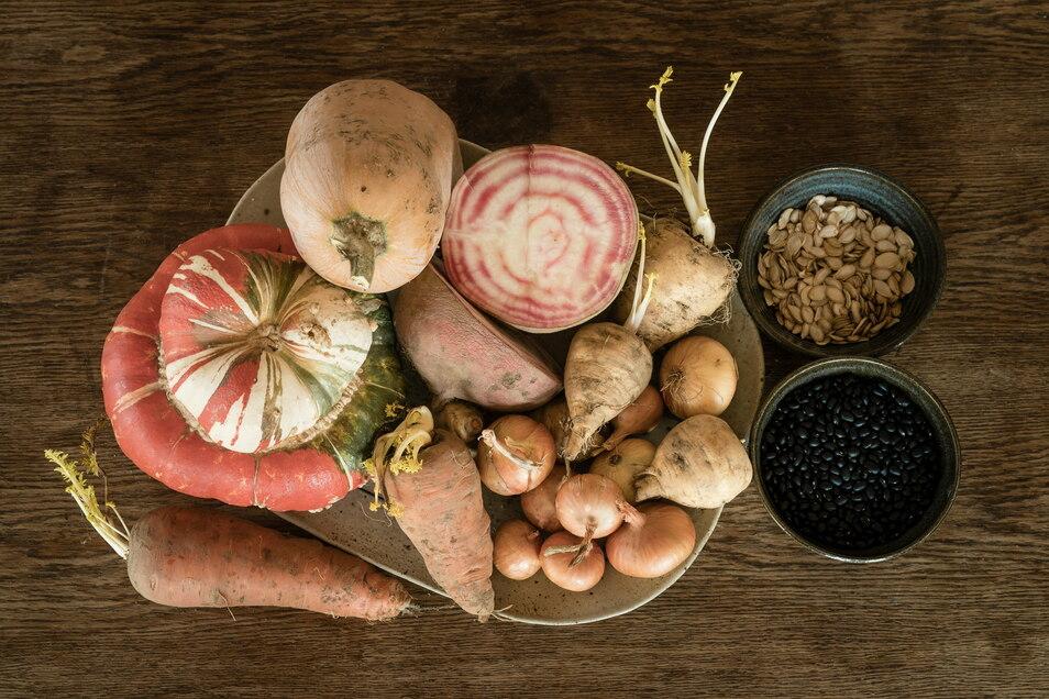 Sortenvielfalt erhalten: Gemüse kann ganz verschieden aussehen.