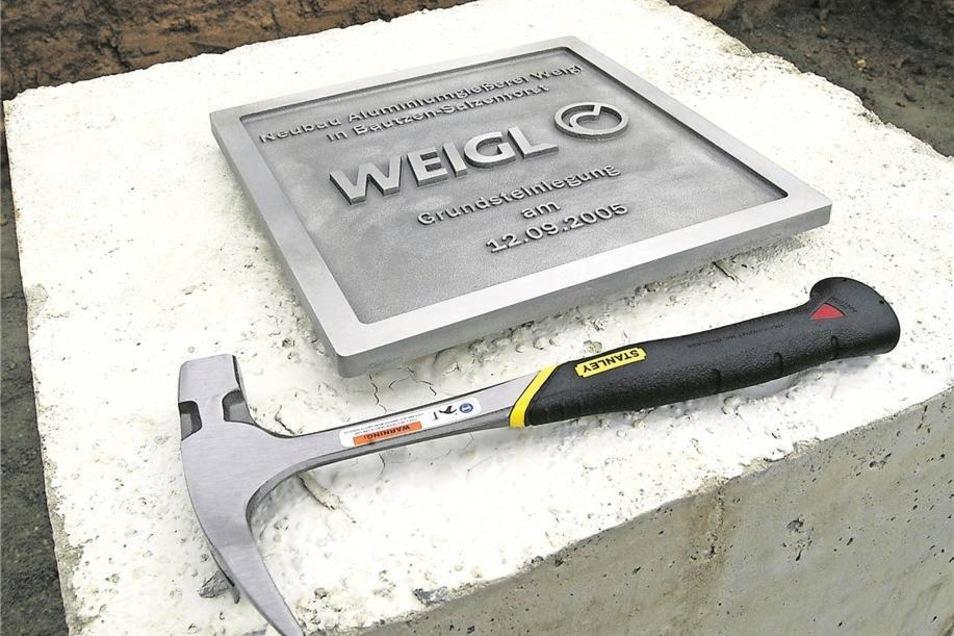 Nur sieben Jahre nach der Grundsteinlegung 2005 für das Werk in Bautzen ist die Weigl-Firmengruppe Geschichte. Der Gründer steht unter Bankrott-Verdacht. Foto: Soeder