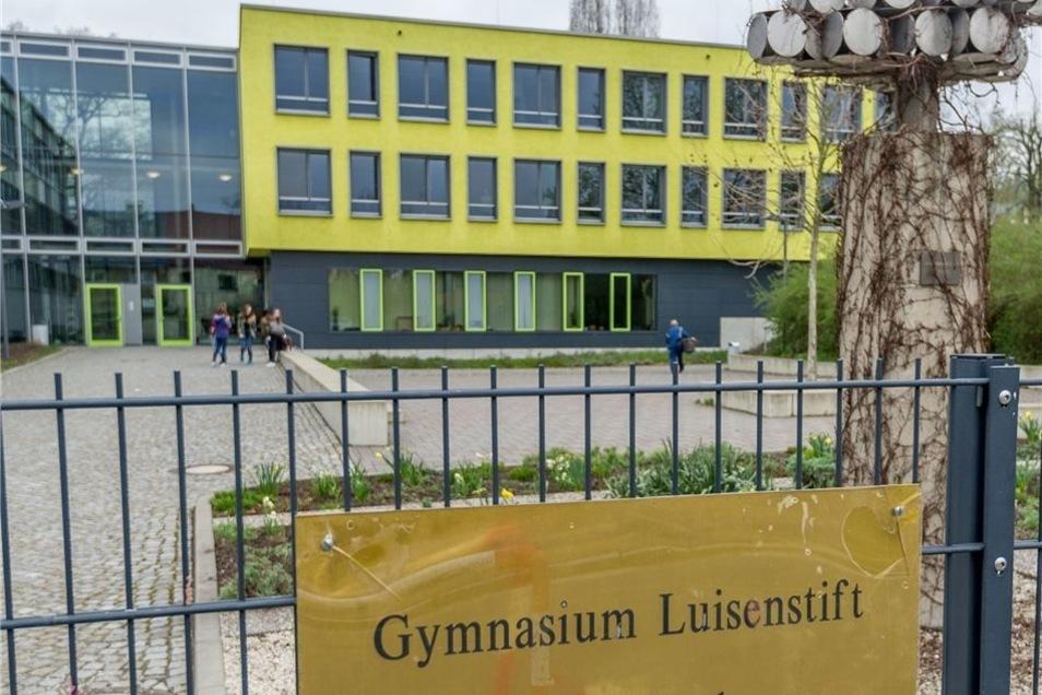 Der erste Wettbewerb drehte sich um das Weinberghaus vom Gymnasium Luisenstift.