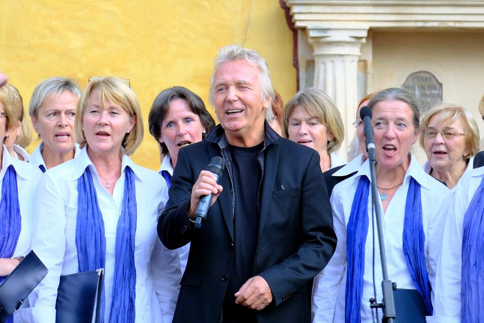 Muck sang nicht nur, er wird auch als Kurator das Chorfestival in Zukunft begleiten.