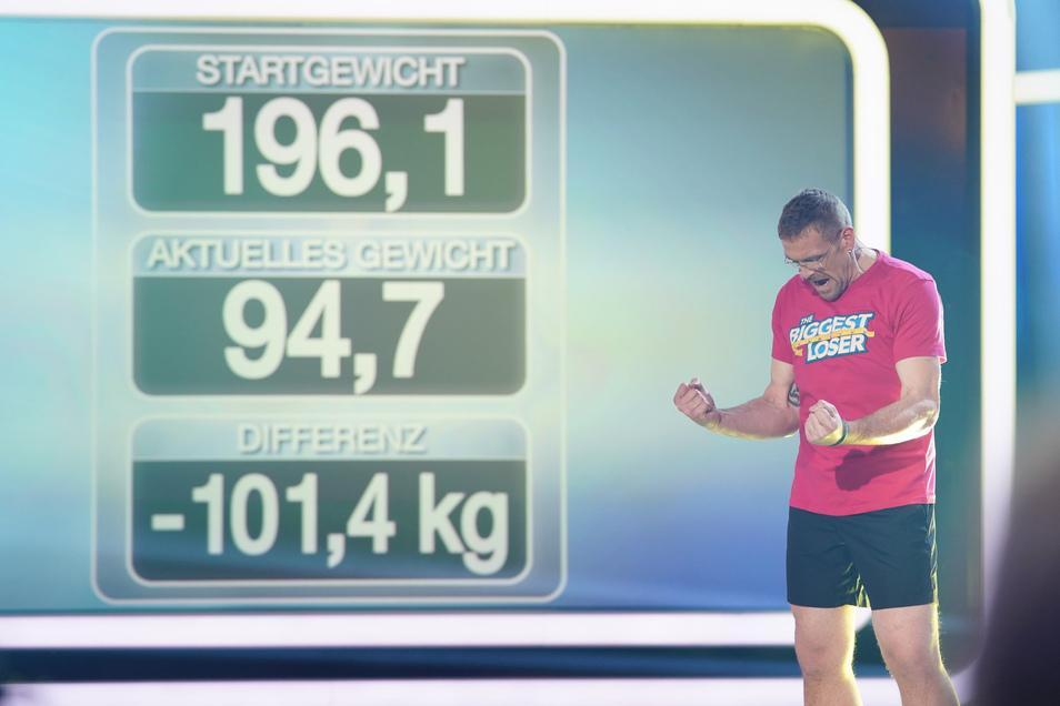 Mario Pohl aus Jeßnitz hat in der TV-Show Unglaubliches geschafft. Die Säulen des Abnehm-Programms sind Disziplin, Sport und maßvolle Ernährung.