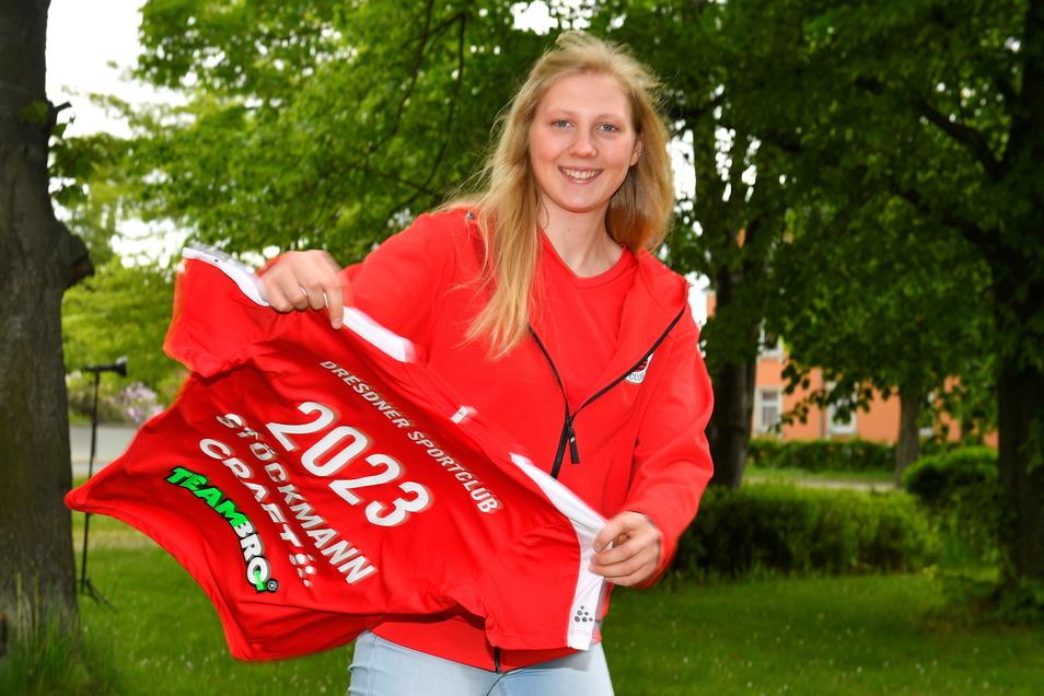Eigengewächs Sina Stöckmann erhielt beim Dresdner SC einen Zweijahresvertrag.