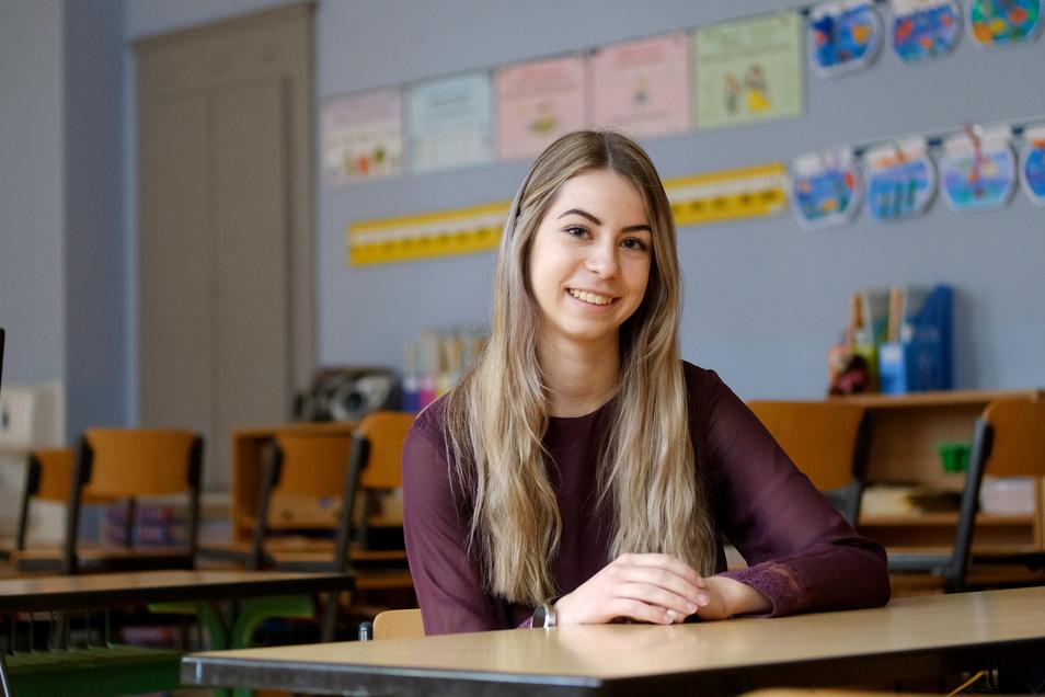 Leonie Lundershausen besuchte die Afra Grundschule, nun ist sie für ein Freiwilliges Soziales Jahr zurückgekehrt.