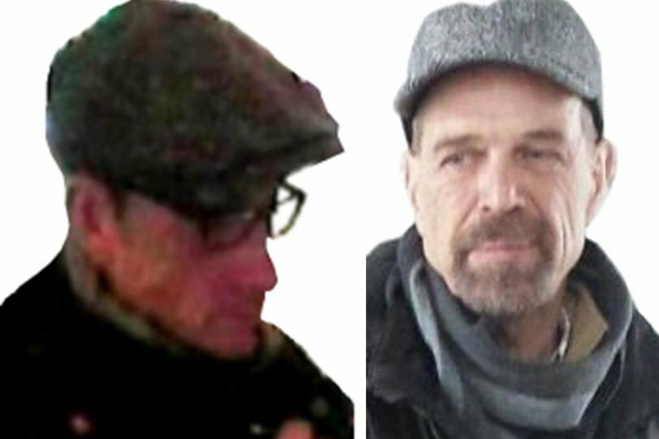 Die mutmaßlichen früheren RAF-Mitglieder Ernst-Volker Staub (r), Burkhard Garweg (l) und Daniela Klette (nicht im Bild) werden wegen einer Serie von Raubüberfällen zwischen 1999 und 2016 gesucht.