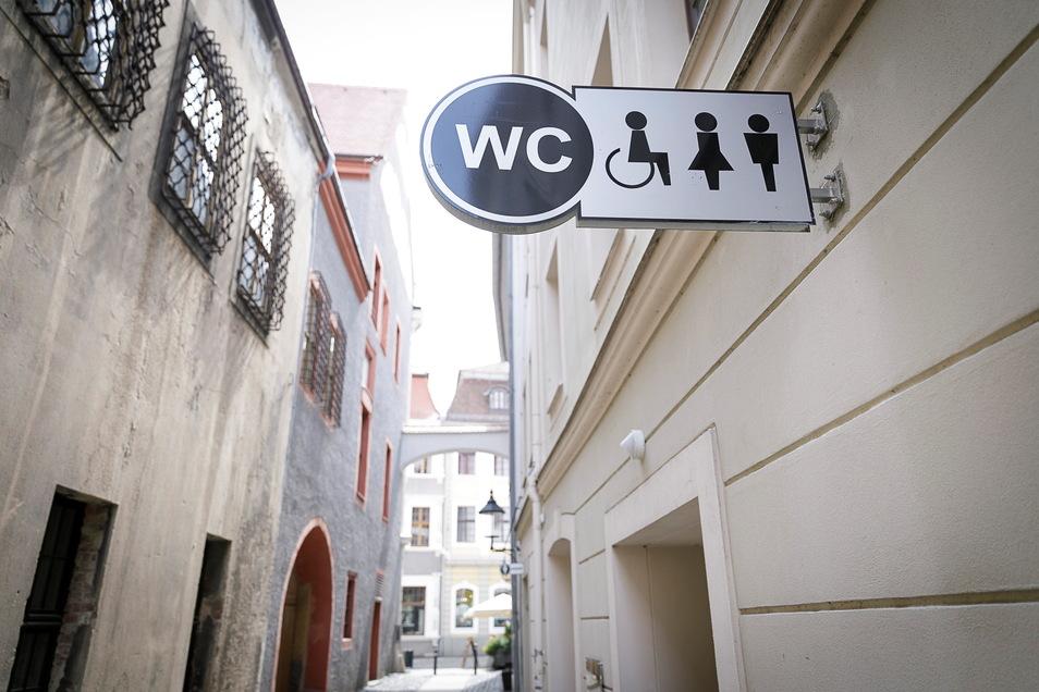 Toiletten in der Apothekergasse in Görlitz sind ganzjährig geöffnet.