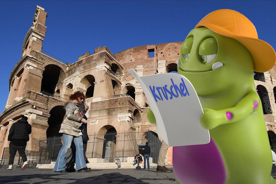 Das Kolosseum in Rom zieht auch noch heute viele Besucher an.
