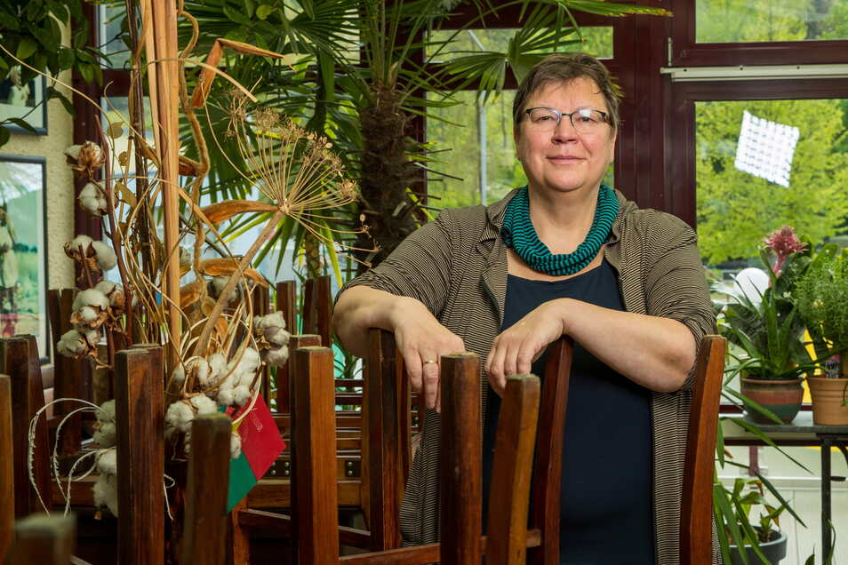 Brückenschänke-Inhaberin Barbara Motz: Nur nicht die Nerven verlieren.