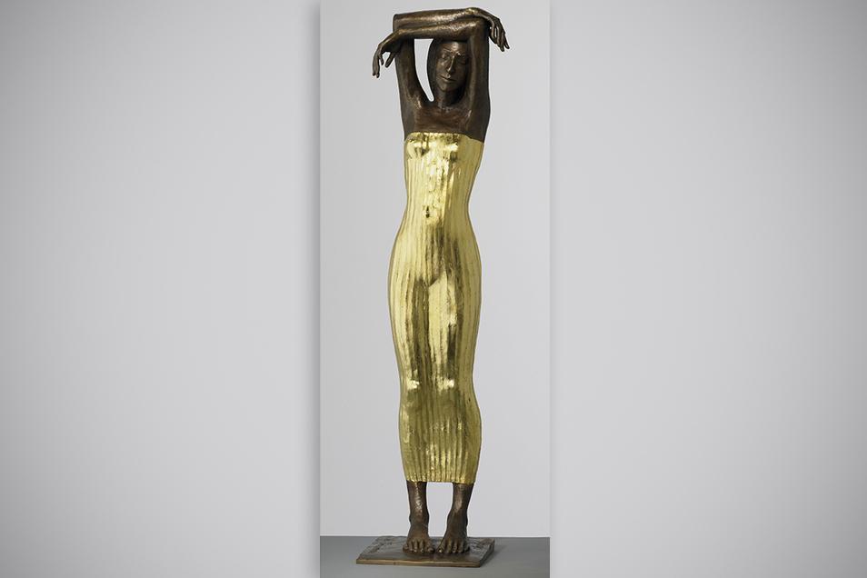 Die 1,20 Meter große vergoldete Bronzestatue von Malgorzata Chodakowska wird in diesem Jahr zum 16. Mal vergeben.