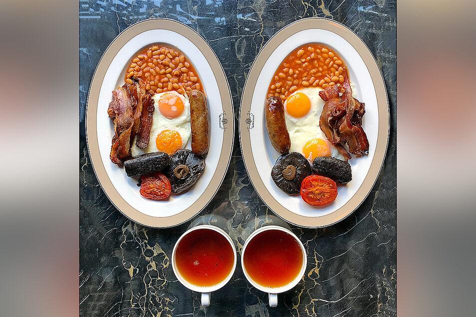 Essen als ästhetisches Objekt: Der Fotograf Michael Zee zeigt seine Fotos auf Instagram.