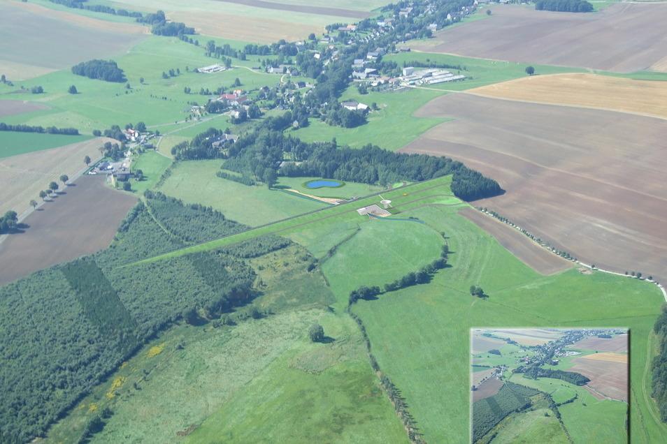 In Bobritzsch soll ein Hochwasserrückhaltebecken gebaut werden, das auch für den Döbelner Flutschutz Bedeutung hat.