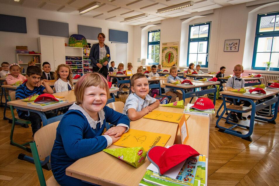 Schulanfang Kunzemannschule Döbeln.