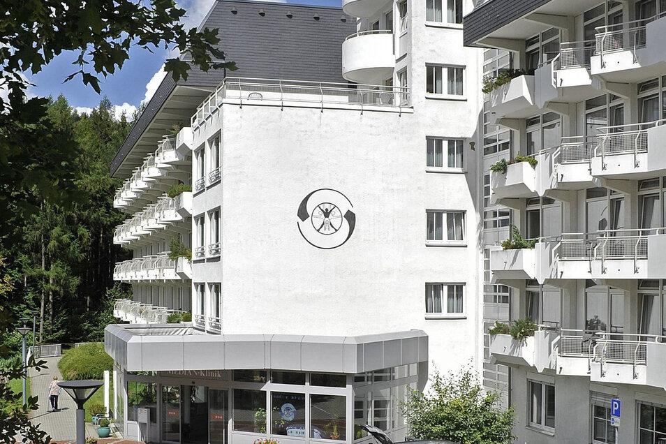 Ab Montag leer: Die Berggießhübler Klinik.