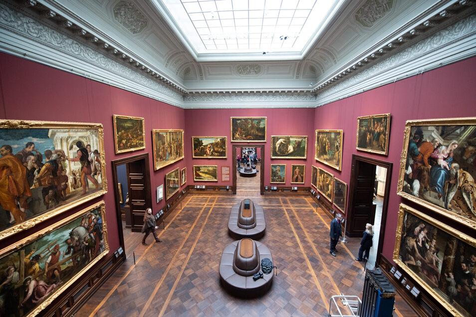 Die Dresdner Gemäldegalerie Alte Meister wurde für knapp 50 Millionen Euro renoviert.