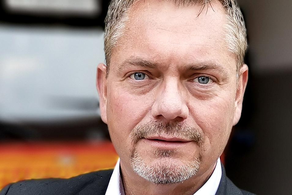 Frank Hannig will es für die Freien Wähler wissen.