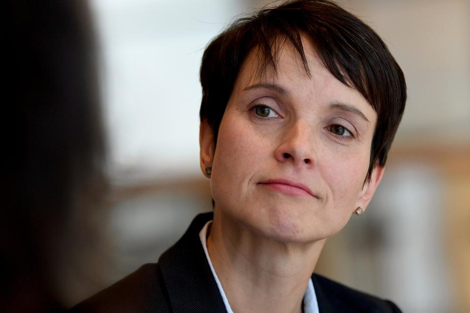 Die ehemalige AfD-Vorsitzende Frauke Petry