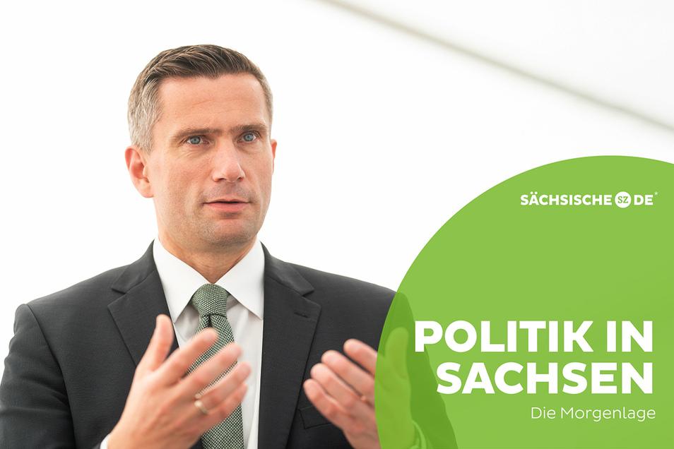 Sachsens Wirtschaftsminister Martin Dulig (SPD) will die Finanzhilfen für Unternehmen auch im Januar fortsetzen, wenn nötig.