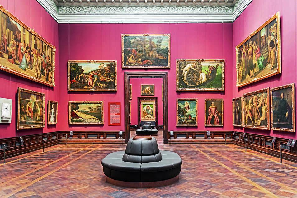 Italienische Malerei des 14. bis 17. Jahrhundert.
