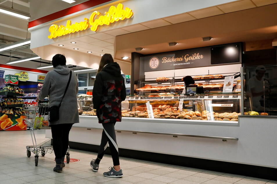 Die Bäckerei Geißler betreibt nun auch eine Filiale im Kaufland-Markt an der Äußeren Weberstraße in Zittau.