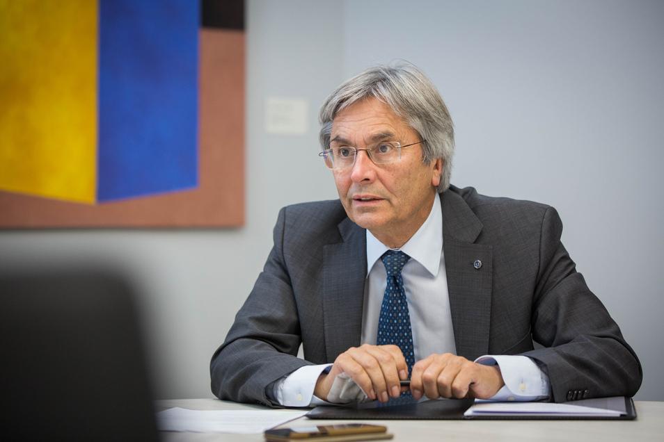 TU-Rektor Hans Müller-Steinhagen macht im SZ-Interview deutlich, wie sehr er sich über die Besetzung ärgert und erklärt, warum die TU so vorgegangen ist.