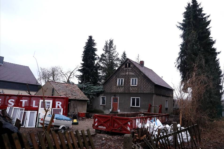 Die Baustelle in Struppener Straße. Foto: Tino Plunert