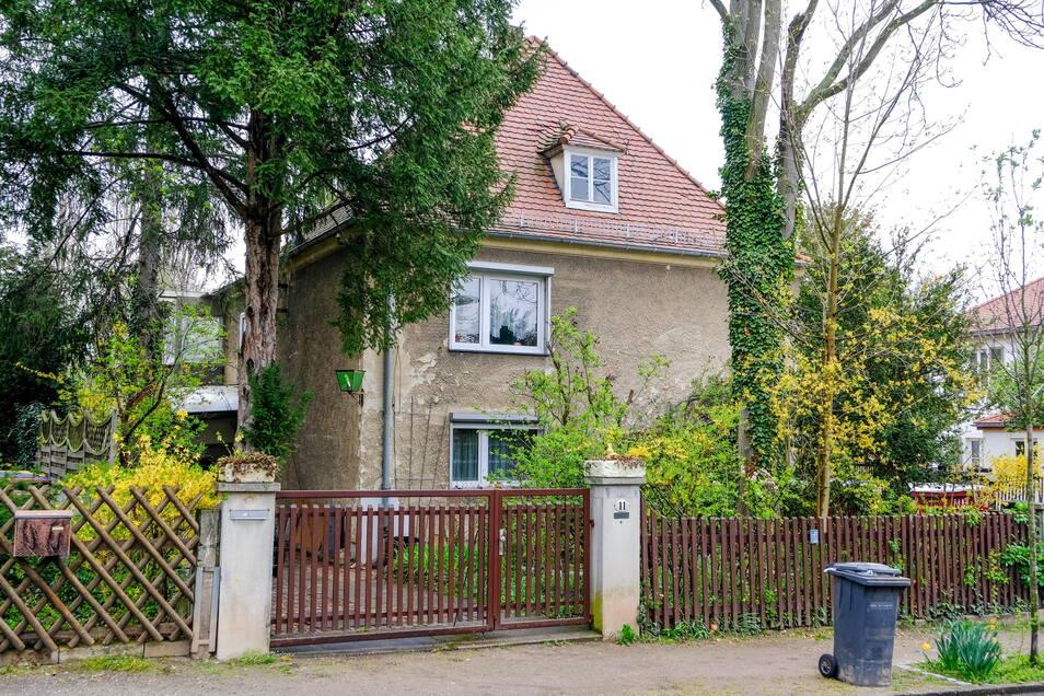 Auslöser für die Petition ist dieses Gebäude an der Fritz-Schulze-Straße. Das Haus soll einem Mehrgeschosser weichen.